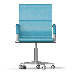 "Bürostuhl / Drehstuhl Modell ""Arizona"" - blau"