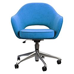 """Bürostuhl / Drehstuhl Modell """"Nebraska"""" - blau"""